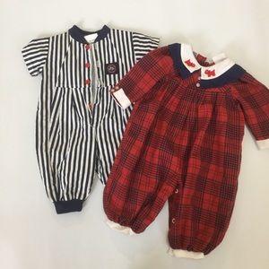 Other - 2 vintage baby onesie